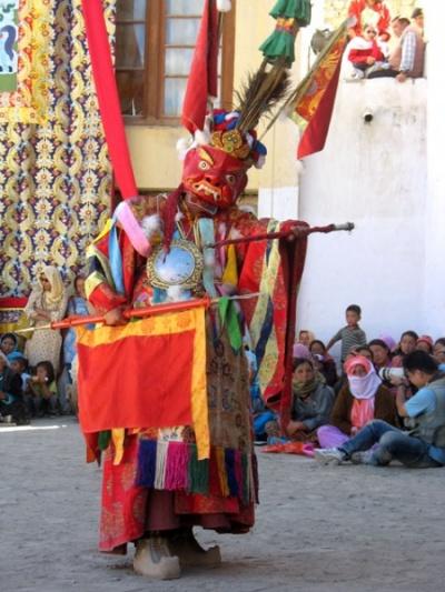 Танец лам, монастырь Пьянг, Ладакх