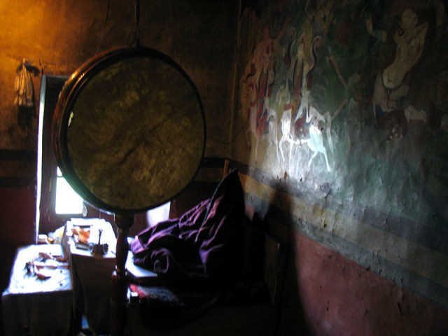 Сидящий кафтан… монастырь Пьянг, Ладакх