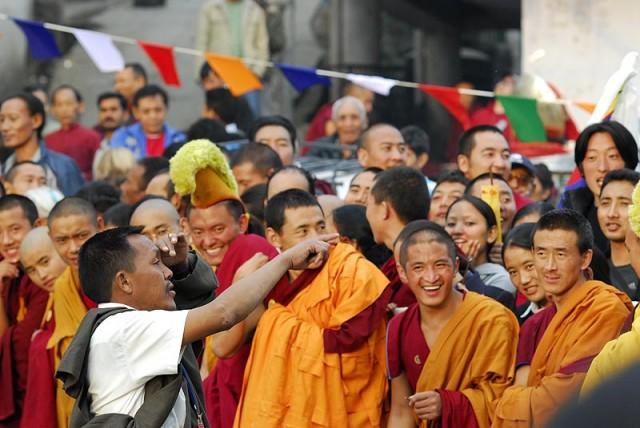 ожидание приезда Далай-ламы