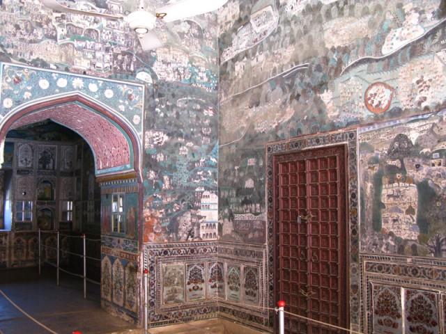 Форт и дворец в г. Кота (Раджастан)