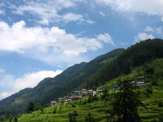Небо над долиной Банджар