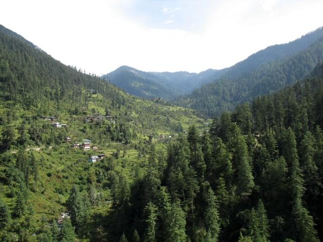 Долина Банджар зелена и красива