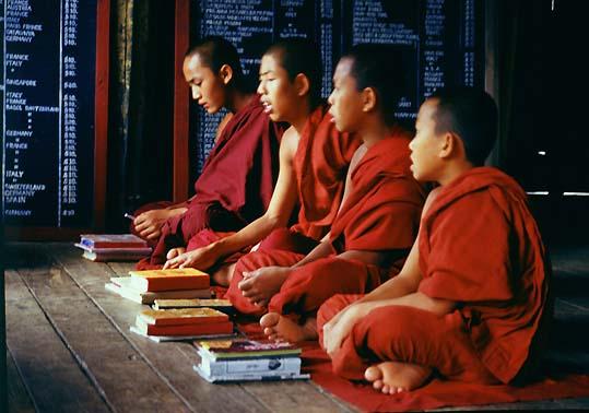 В Киев приехали буддисты