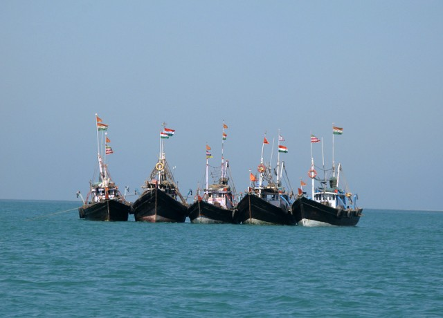 Рыбацкие корабли