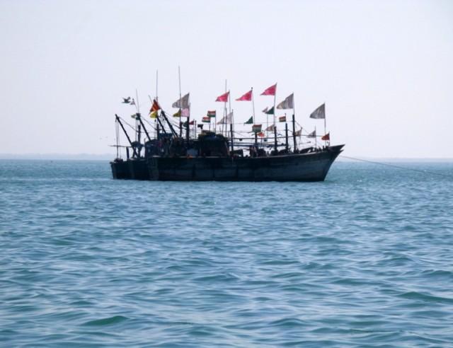 Похоже, что там живут пираты ))