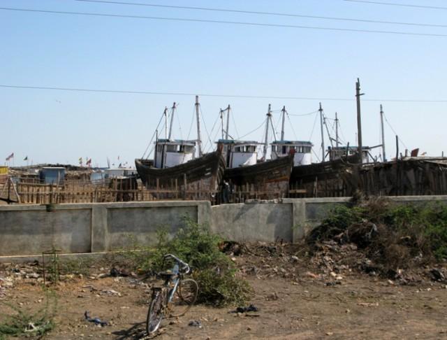 Велосипед и корабли