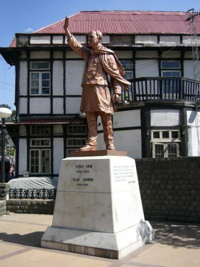 Памятник Радживу Ганди