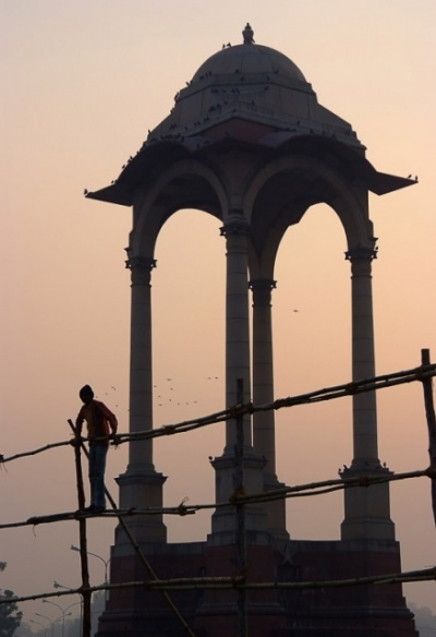 Закат у Ворот Индии
