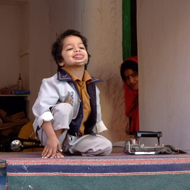 Мальчик и девушка. Джодпур