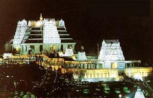 Современный храм Кришны в Бангалоре
