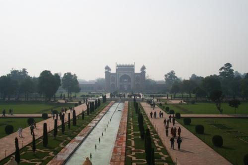 Вид на центральный вход.