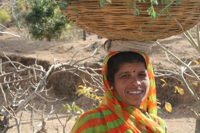 Сельская жительница