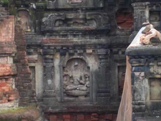 Наланда Статуя Будды