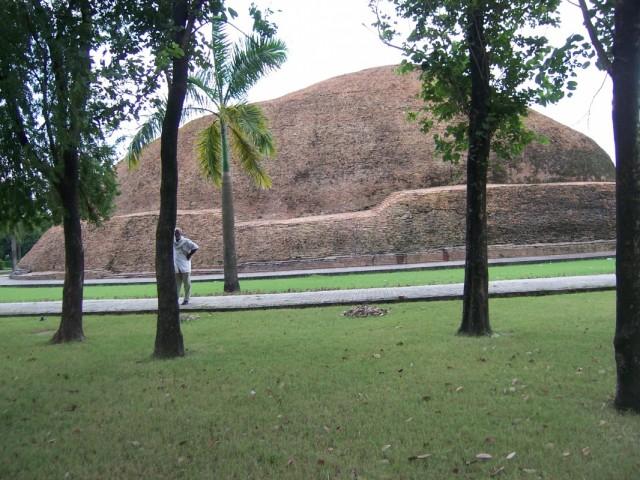 Кушинагар Ступа Рамабхар Место Кремации Будды
