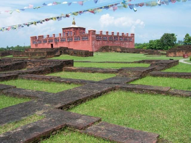 Лумбини Территория Древнего Дворца на Месте Рождения Будды