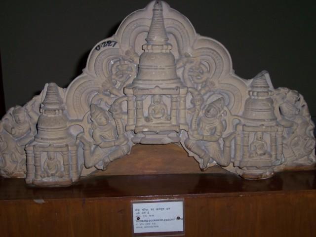 Кушинагар Статуи в Музее