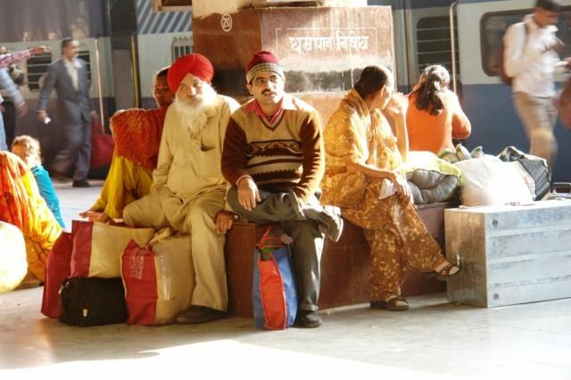 Джайпур. Вокзал.