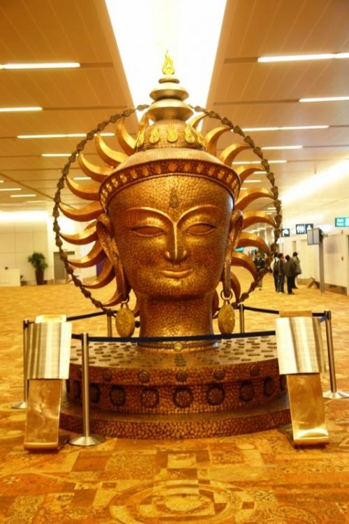 Аэропорт в Дели.