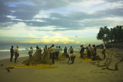 Утро рыбаков