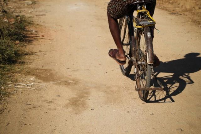 велотень
