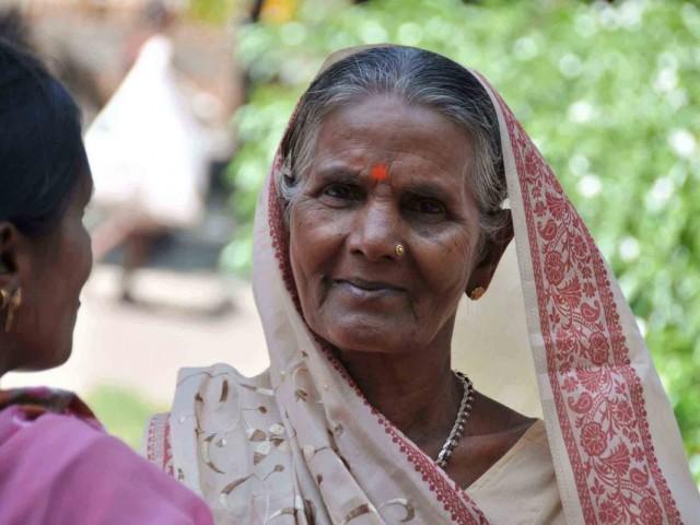 Индийская женщина. Дели