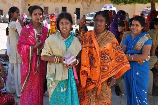 Праздничные наряды. Форт Амбер, Джайпур
