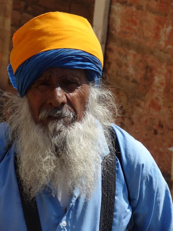 Паломник из Пенджаба. Гвалиор.