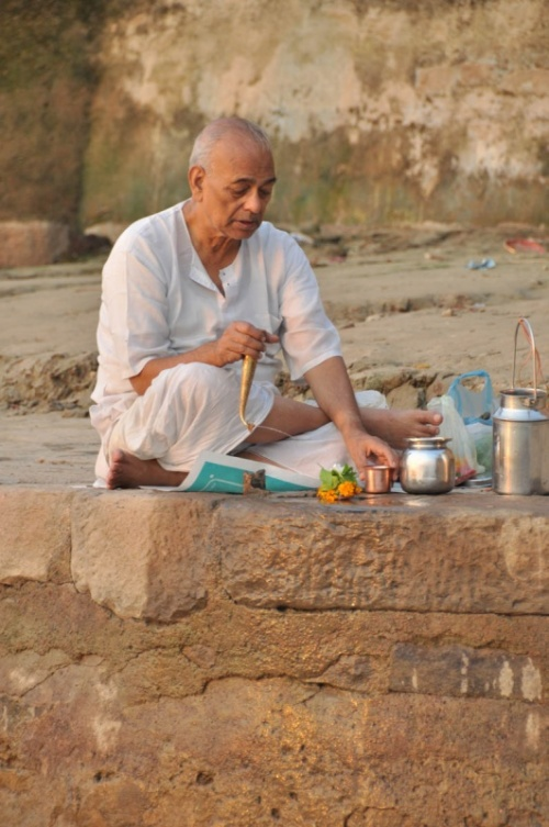 Ритуал... Гхаты Варанаси.