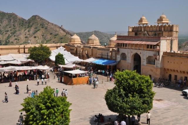 Джайпур. Форт Амбер