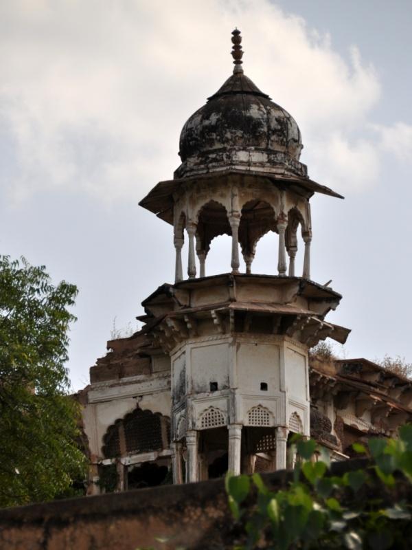 Бхаратпур. Дворец.