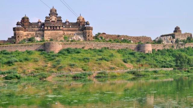 Датиа. Дворец Бир Сингх.