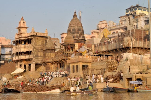 Варанаси. Гхаты и храмы