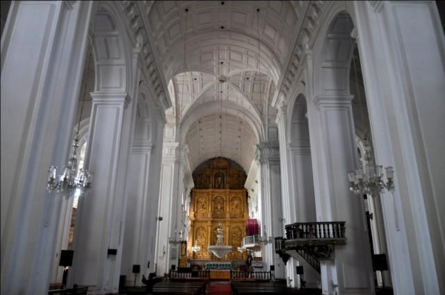Старый Гоа. Собор Св.Екатерины