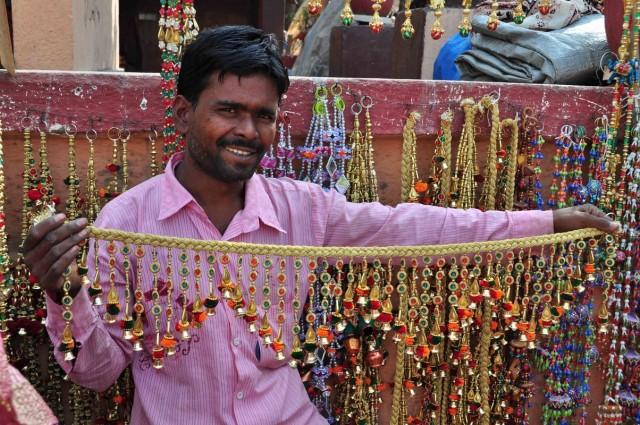 На базарах Ахмедабада.