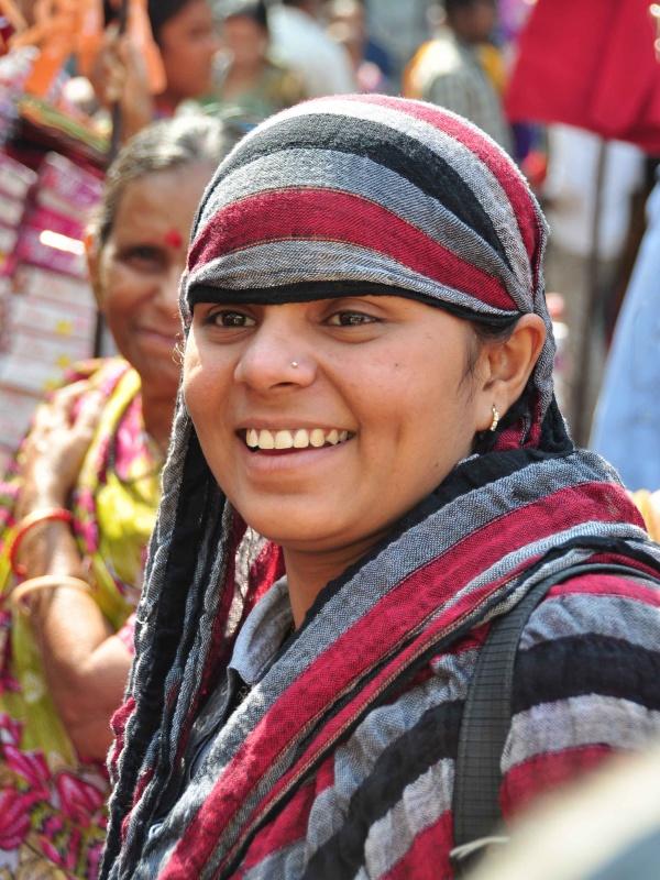 Смешливая девченка. Ахмедабад