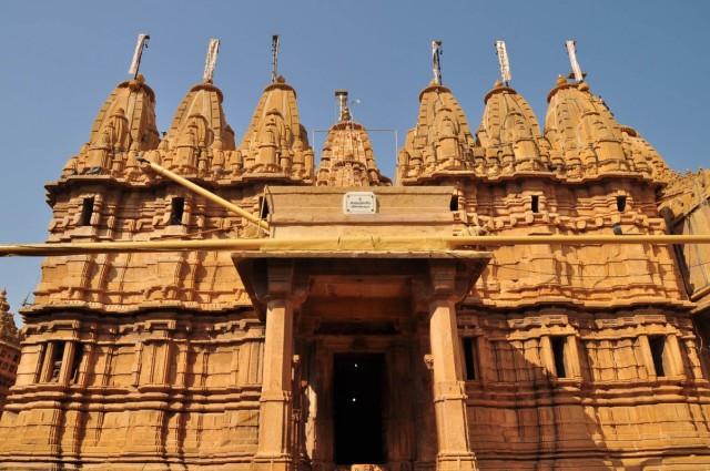 Джайсалмер. Джайнский храм.