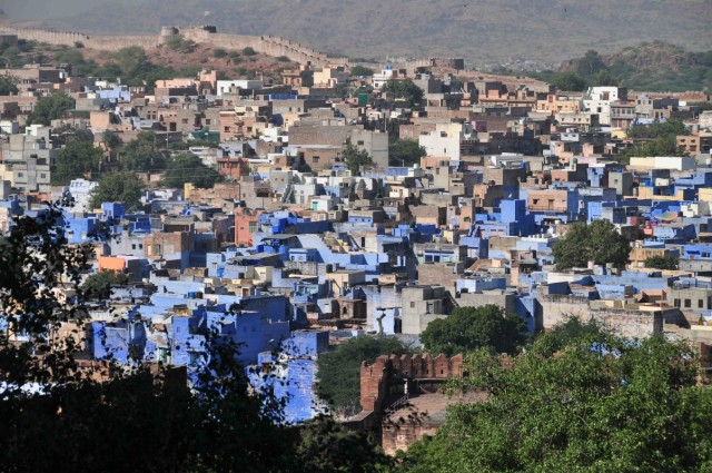 Джоджхпур. Панорама.