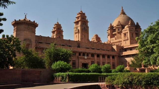 Джодхпур. Umaid Bhavan Palace