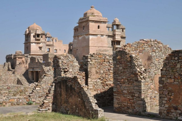 Читторгарх. Rana Kumbha Palace.