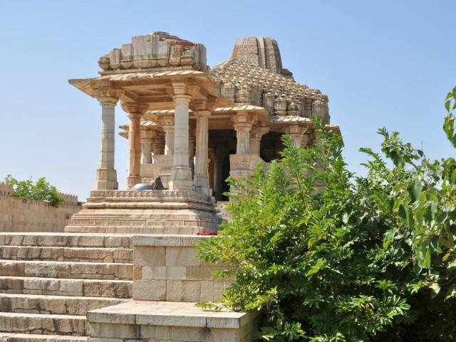 Читторгарх. Hindu Temple