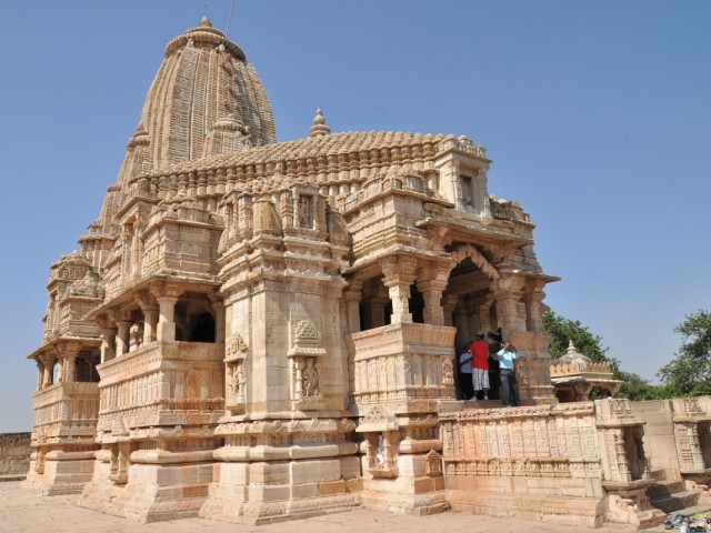 Читторгарх. Meera Temple.