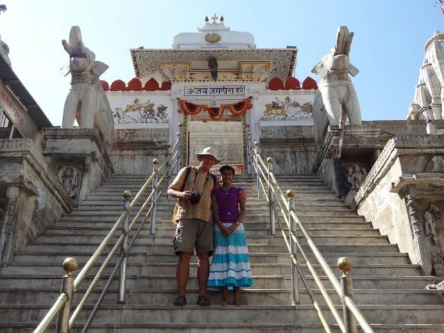 Индостанец в Удайпуре.