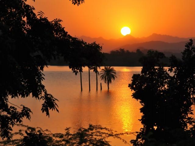 Закат над Аравали.