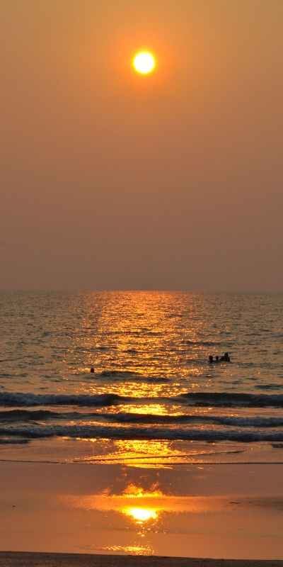 Гоа, пляж Кавелоссим