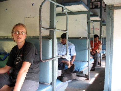 В индийском поезде