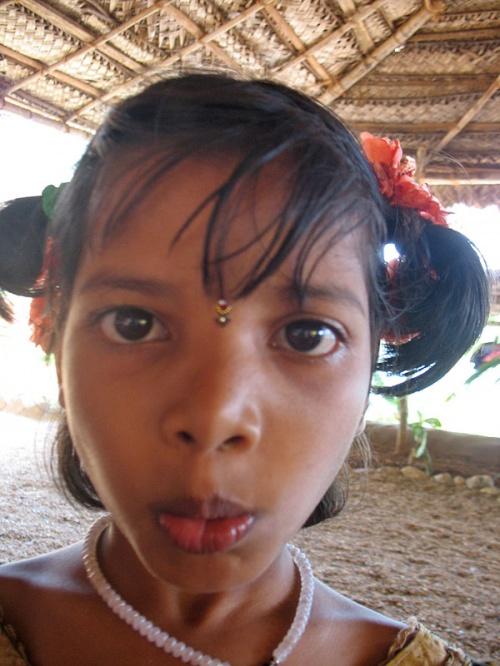 Девчушка из чай-шопа на Парадайз бич