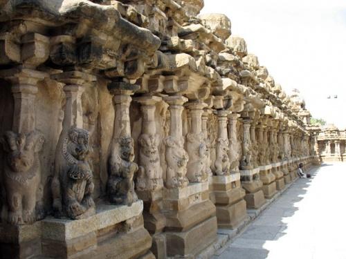 Канчипурам: Архитектура и скульптура индуизма