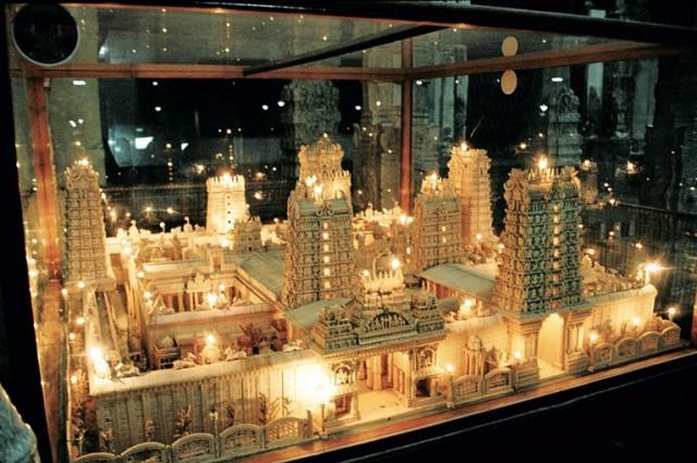 Модель храма Минакши