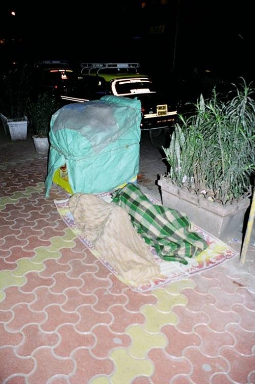 Спящие на улицах