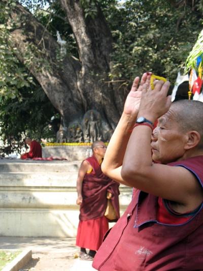 Буддистский монах